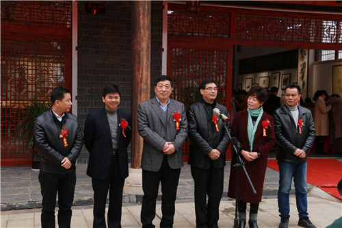 民盟中央美术院江西分院创作基地在文港镇揭牌
