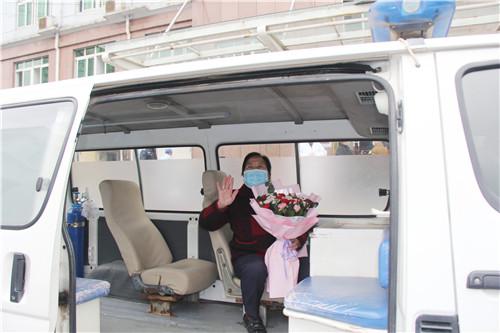 赣县区连续12天无新增 又一新冠肺炎患者治愈出院