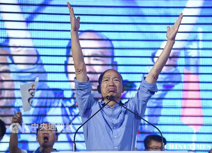 韩流席卷秃子翻转高雄照亮国民党
