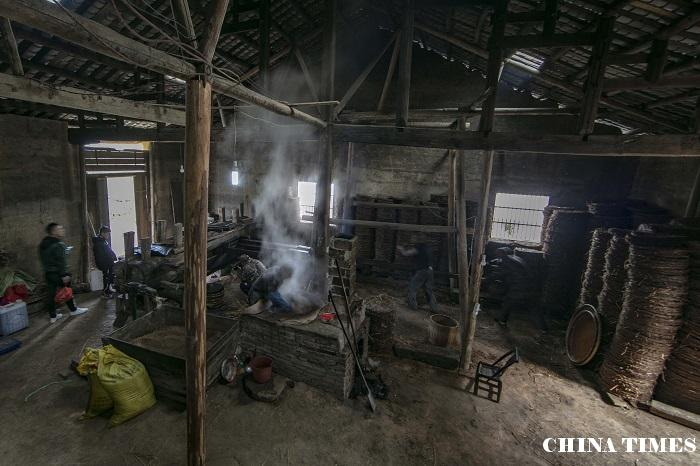 江西武宁:老油榨坊的新财路