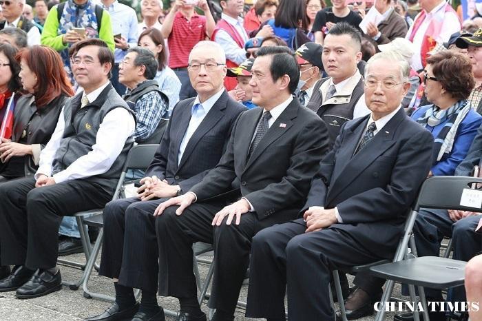 蒋公纪念活动失焦 支持者高喊徵召韩国瑜