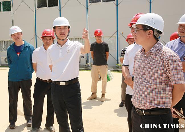 儋州市长朱洪武调研重点项目:尽心尽力尽责服务保障项目建设
