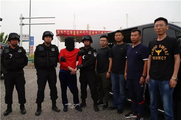 通辽市公安机关在马来西亚成功抓获潜逃21年重大涉黑杀人逃犯并押解回国