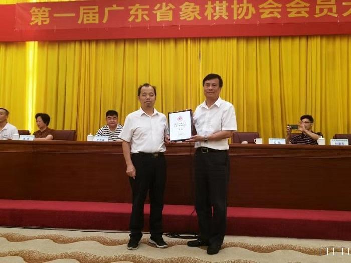 广东省象棋协会昨日成立 吕钦当选为会长