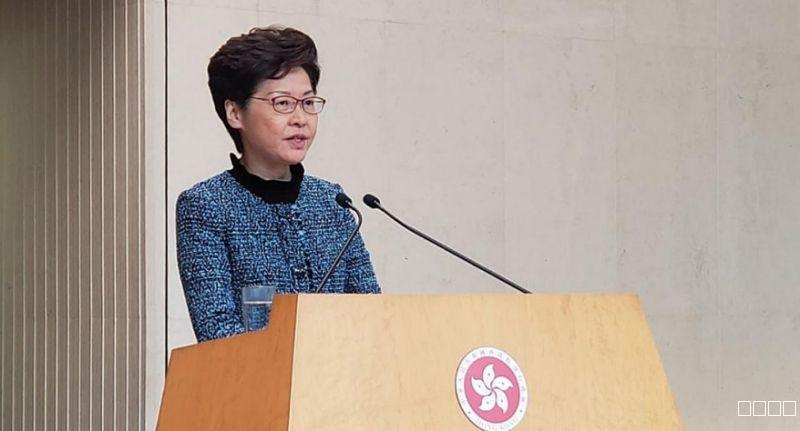 林鄭月娥重申自己一直獲中央支持