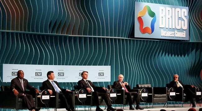 金砖国家领导人都齐聚巴西召开峰会