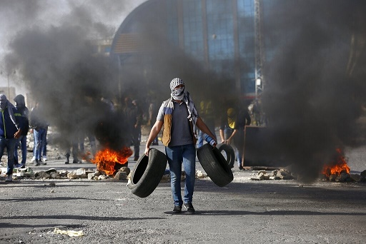 巴勒斯坦西岸多处示威 不满美方改变犹太殖民区立场