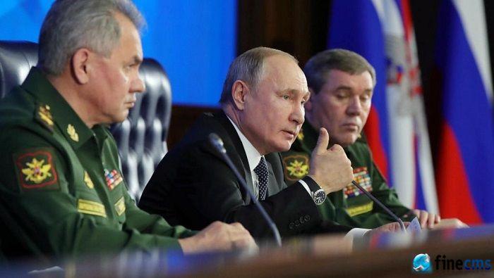 俄罗斯宣布已经部署新型超音速导弹