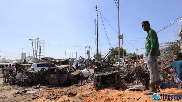 摩加迪沙爆炸案中至少73人丧生