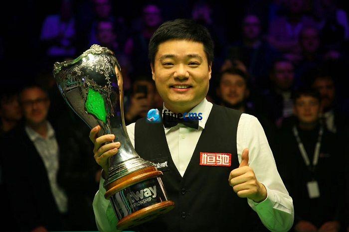 丁俊晖英锦赛夺冠十年后王者又归来