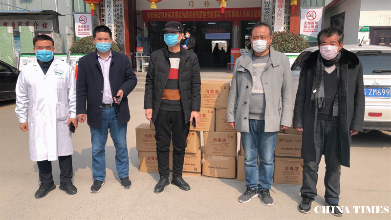 河南省固始县:疫情无情人有情 李氏宗亲忙捐赠