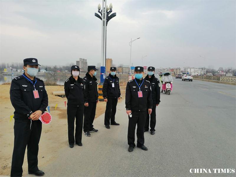河南省固始县公安局东关派出所警民并肩共战役情