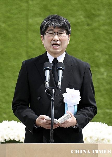 長崎市長在原子彈轟炸75週年再籲中央簽禁止核武器條約