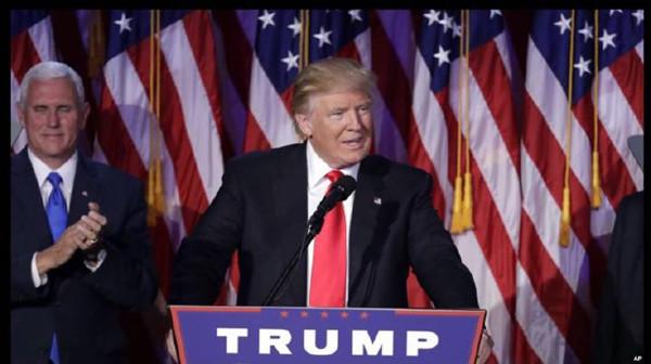 川普当选总统引起全球股市大跌
