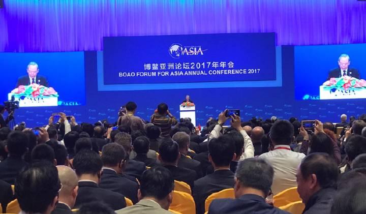 中国国家主席习近平向博鳌亚洲论坛2017年年会发来贺信