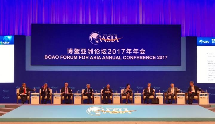 博鳌亚洲论坛年会全体大会:直面全球化与自由贸易的未来