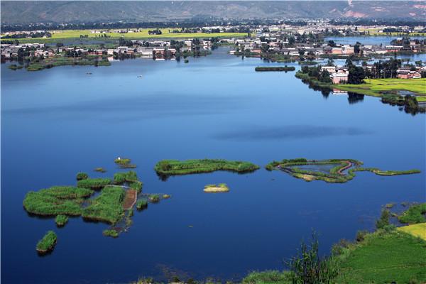 六村七岛俏西湖