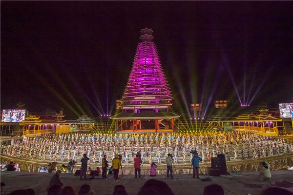 贵州黎平——侗族文化节向您展开拥抱的双手