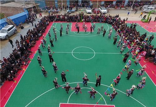 贵州从江:芦笙文化进校园活动